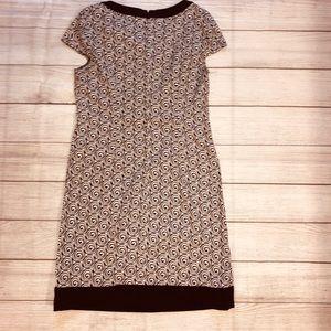 Black/white London Times dress